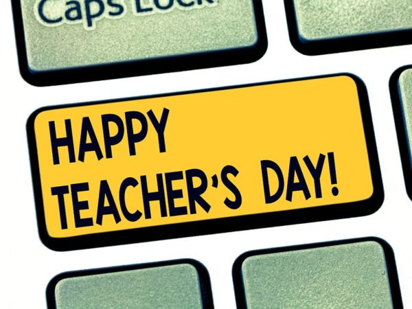 Celebrating Teacher Appreciation Week, May 4-8